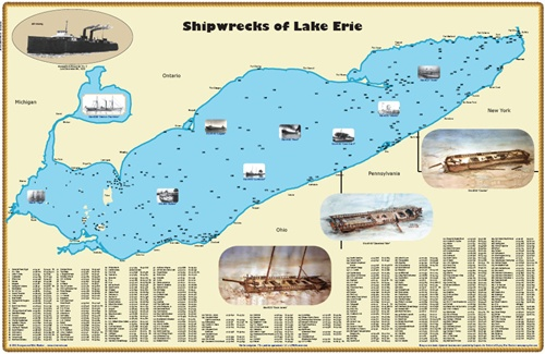 New Lake Erie Shipwreck Map Shipwreck Map on prehistoric maps, 17th century maps, groundwater maps, high quality maps, geoportal maps, pyramids ancient egypt maps, stone maps, shipping maps, pathfinder rpg maps, role playing maps, social studies maps, treasure maps, disease maps, ham radio maps, teaching maps, fictional maps, fill in the blank maps, unusual maps, minecraft mine maps,