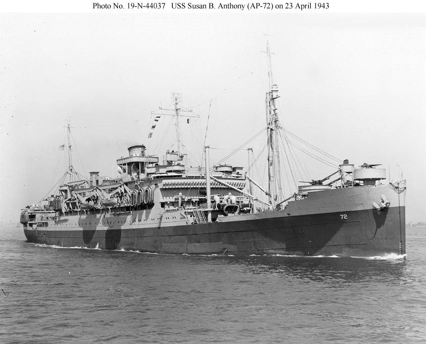 USS Susan B Anthony